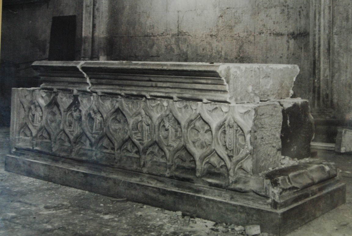"""The """"Tomb"""" of Marjory Bruce"""