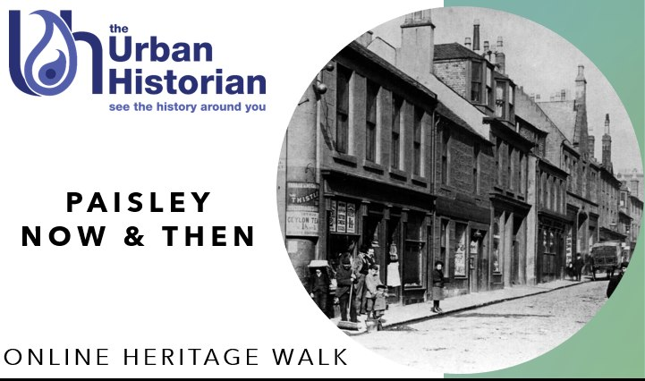 New Years Virtual Heritage Walk – 2nd Jan, 3pm