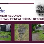 Tues 20th July, 7.30pm - Paisley Burgh Records History Talk