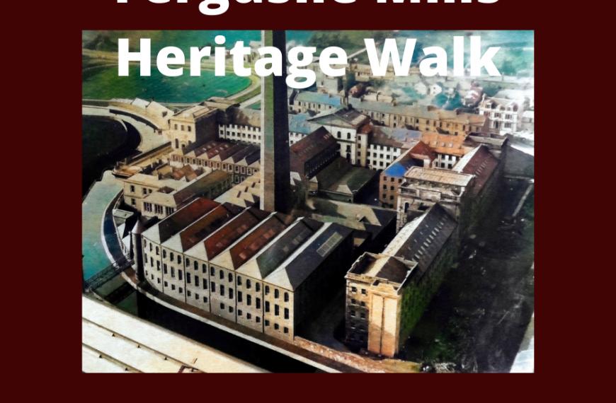 Ferguslie Mills Heritage Walk – Sat 4 Dec 1-3pm
