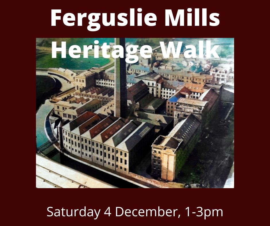 Ferguslie Mills Heritage Walk - Sat 4 Dec 1-3pm