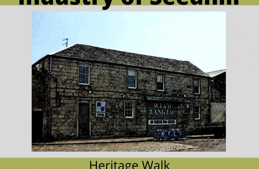 Industry of Seedhill Heritage Walk – 13 Nov 1 – 3pm