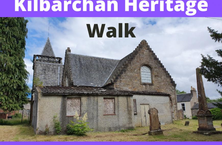 Kilbarchan Heritage Walk – Sat 27 Nov 1-3pm
